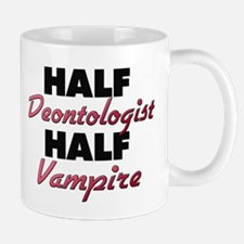 Half Deontologist Half Vampire Mugs