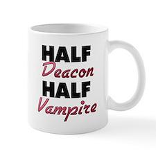 Half Deacon Half Vampire Mugs