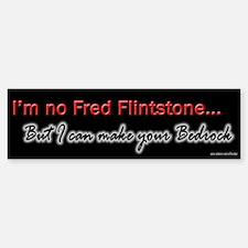 I Can Make Your Bedrock Bumper Car Car Sticker