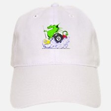 Pool Dragon Billiards Baseball Baseball Cap