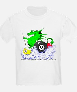 Pool Dragon Billiards T-Shirt