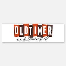 Old Timer Bumper Bumper Bumper Sticker