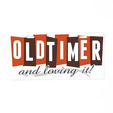 Old Timer Aluminum License Plate