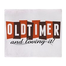 Old Timer Throw Blanket