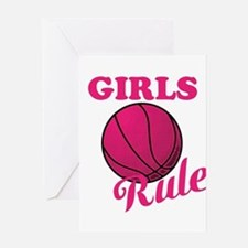 Girls Rule Greeting Cards
