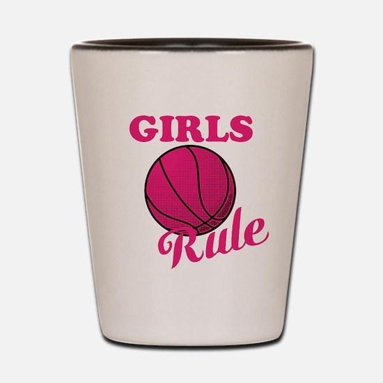 Girls Rule Shot Glass