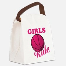 Girls Rule Canvas Lunch Bag