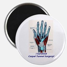 """I Survived Carpal Tunnel Surgery! 2.25"""" Magnet (10"""