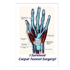 I Survived Carpal Tunnel Surgery! Postcards (Packa