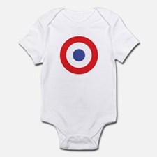 Infant Bodysuit with Target Mod pop logo.