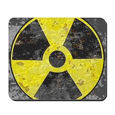 Radiation sign 2 Mousepad