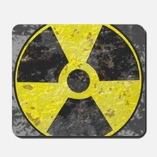 Radiation sign 2 Mousepad
