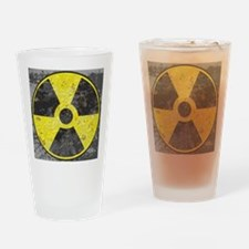 Radiation sign 2 Drinking Glass