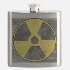 Radiation sign 2 Flask