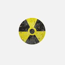 Radiation sign 2 Mini Button