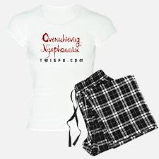 OVERACHIEVING - WHITE Pajamas