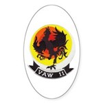 VAW 11 Early Elevens' Oval Sticker