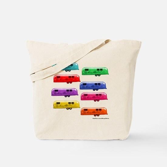 Cute Camping trailers Tote Bag