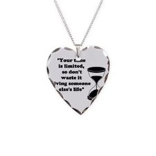 Time Quote Necklace