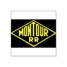 Montour Railroad Logo Sticker