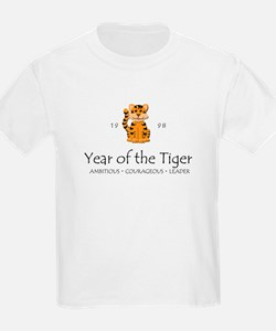 """Year of the Tiger"" [1998] Kids T-Shirt"