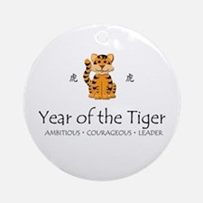 """""""Year of the Tiger"""" Ornament (Round)"""