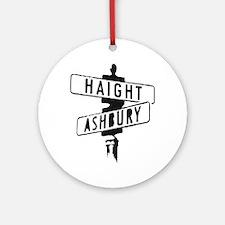 Haight Ashbury Ornament (Round)