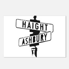 Haight Ashbury Postcards (Package of 8)