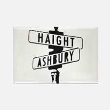 Haight Ashbury Rectangle Magnet