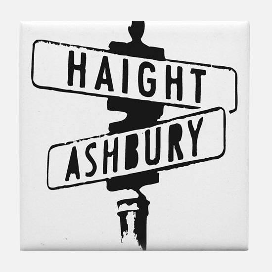 Haight Ashbury Tile Coaster