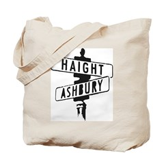 Haight Ashbury Tote Bag