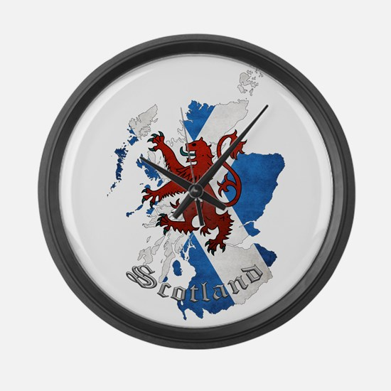 Scottish Heritage Design Large Wall Clock