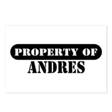 Property of Andres Postcards (Package of 8)