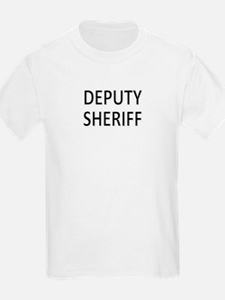Deputy Sheriff - Black T-Shirt