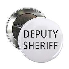 """Deputy Sheriff - Black 2.25"""" Button"""