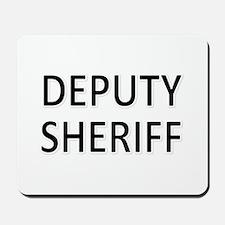 Deputy Sheriff - Black Mousepad
