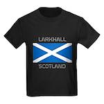 Larkhall Scotland Kids Dark T-Shirt