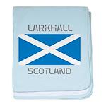 Larkhall Scotland baby blanket