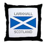 Larkhall Scotland Throw Pillow