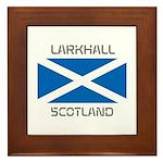 Larkhall Scotland Framed Tile