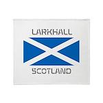 Larkhall Scotland Throw Blanket