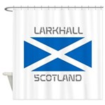 Larkhall Scotland Shower Curtain