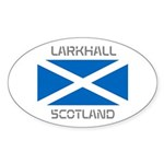 Larkhall Scotland Sticker (Oval)