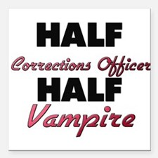 Half Corrections Officer Half Vampire Square Car M