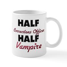 Half Corrections Officer Half Vampire Mugs