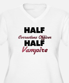 Half Corrections Officer Half Vampire Plus Size T-