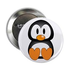 Cute Penguin Button