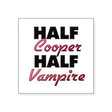 Half Cooper Half Vampire Sticker