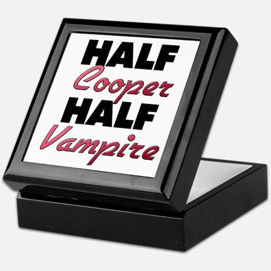 Half Cooper Half Vampire Keepsake Box