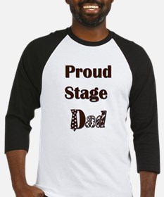 Proud Stage Dad Baseball Jersey